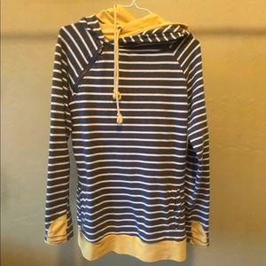 Tops - Double Hooded Sweatshirt